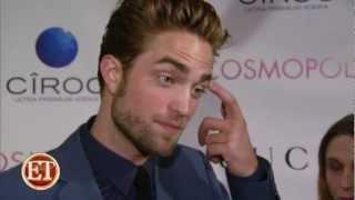 'Cosmopolis' Stars Praise Robert Pattinson ETonline.com [HD]