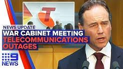 News Update: PM's coronavirus meeting, Telecommunications struggle   Nine News Australia
