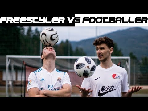 Footballer vs Freestyler - Das ultimative Fussball Battle