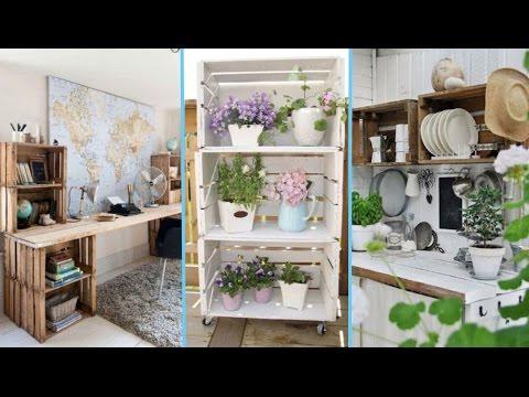ideas con cajas de frutas decora con lidia