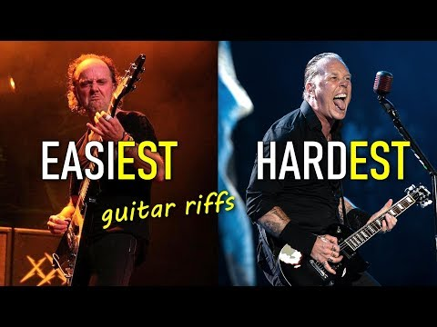 20 levels of Metallica guitar riffs