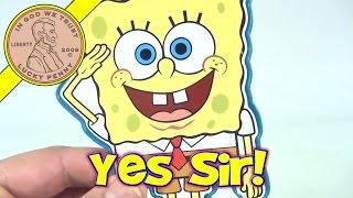 SpongeBob SquarePants Nickelodeon Paddle Ball Toy, 2001 Viacom Inc.