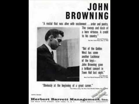 John Browning plays Rachmaninov Prelude in G Op. 32  No. 5
