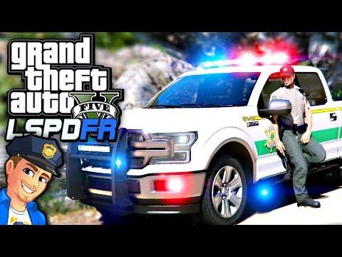 GTA 5 LSPDFR Ford F150 Park Ranger Patrol!