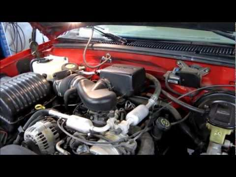 intake manifold gasket replacement upgrade 1997 gmc sierra youtube 1998 S10 Engine Diagram