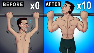 Go from 0 t๐ 10 Pull-Ups FAST