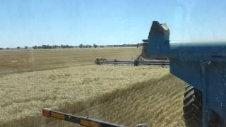 Monster machines at work in Australian farms