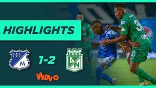 Millonarios vs Nacional (Goles y Highlights) Liga BetPlay Dimayor 2021-1 |  Fecha 13