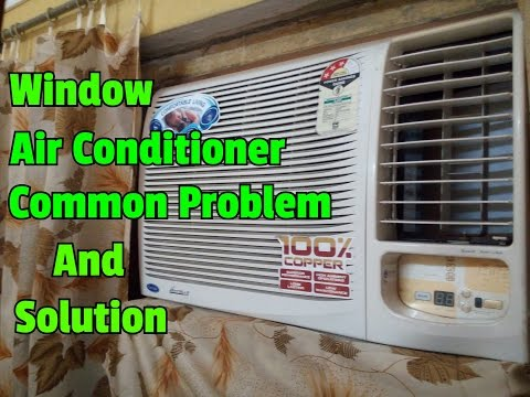 window-air-conditioner-common-problem-and-it's-solution..how-to-fix-window-air-conditioner..