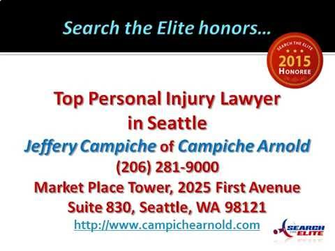Jeffery Campiche Named a Top Personal Injury Lawyer in Seattle