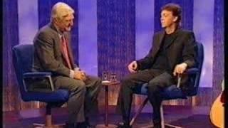 1999 Paul McCartney on Parkinson Part 3/14