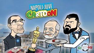 AUTOGOL CARTOON - Napoli-Juve, Eriksen e la rinascita del Milan