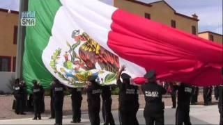 24 de Febrero Día de la Bandera.2012