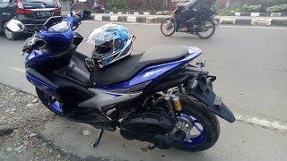 #31 Nyobain Yamaha Aerox VVA, Surprised! | Motovlog Indonesia
