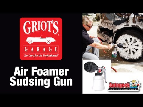 How to use a foam gun to wash your car - Griot's Garage Air Foamer Sudsing Gun