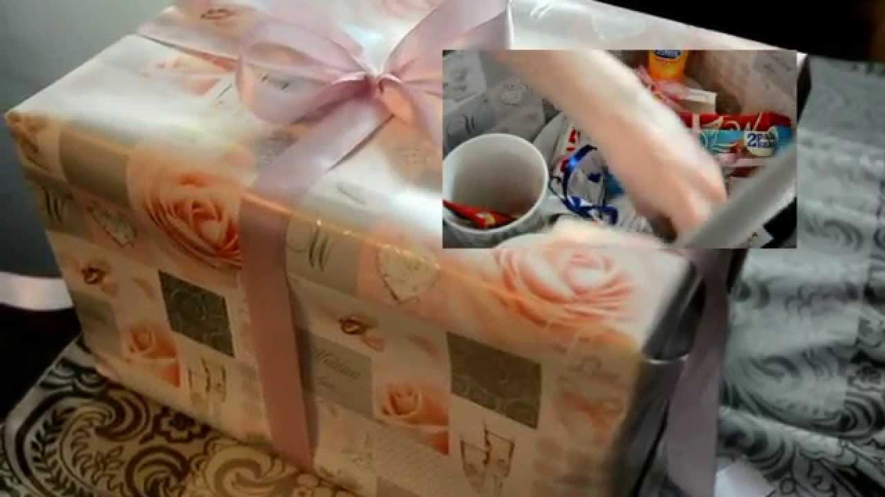 Inne rodzaje Jak zrobić oryginalny prezent ślubny w pudełku / How to make a KF23