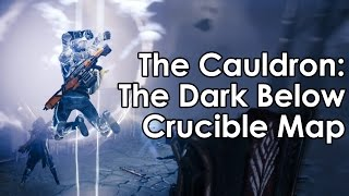 Destiny: The Dark Below - The Cauldron Crucible Map (First Look/Gameplay)