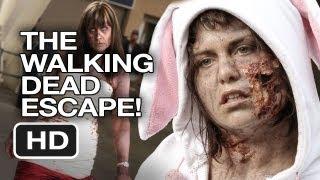 The Walking Dead Escape - Zombie Run Comic-Con 2013 - Alison Haislip