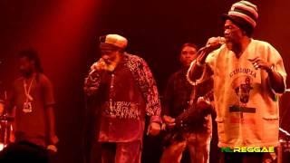 """ABYSSINIANS """"Power Over Evil~Satta Massagana~Mabrak"""" Paradiso, Amsterdam 2011"""