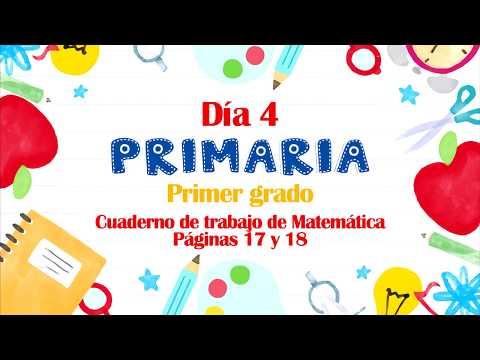 #yoaprendoencasa-|-sem.-1-día-4---primaria-primer-grado,-páginas-17-y-18-de-matemática