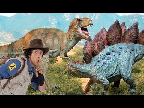Andy's Dinosaur Adventures Tyrannosaurus REX & STEGOSAURUS Facts