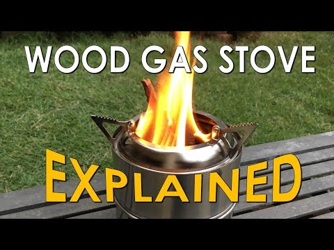 Portable Wood Gasifier Stove Explained