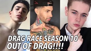 Drag Race Season 10 Cast OUT OF DRAG