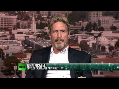 John McAfee on his run for President, privacy and the economy