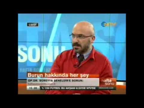 Burun Kanamasının Sebepleri... Op.Dr. Süreyya Şeneldir