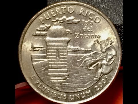 Puerto Rico 25 Cents 2009 - United States Fifty States Quarter Series US