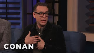 Fred Armisen Is Absolutely Not Cool - CONAN on TBS