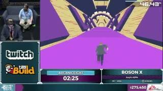 Boson X by ArcanicEight in 6:04 - SGDQ 2016 - Part 69