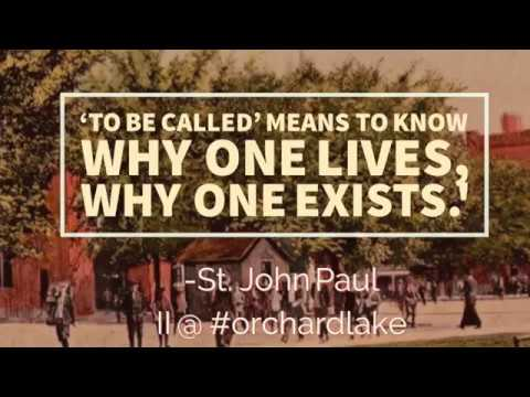 St. John Paul Shrine Chapel: Joseph Serwach talk on Polish Radio, April 14, 2018