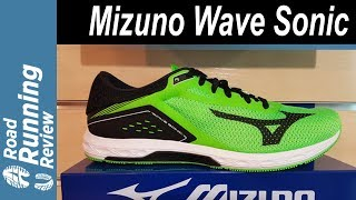 Mizuno Wave Sonic Preview