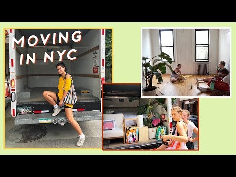 NYC MOVING VLOG AND PROCESS in Brooklyn