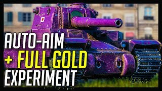 ► Auto-Aim + Gold Ammo Combo 💣 - World of Tanks Type 5 Heavy Gameplay