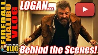 Behind the Scenes of #LOGAN & ALIEN COVENANT! - FIREBALL MALIBU VLOG 509