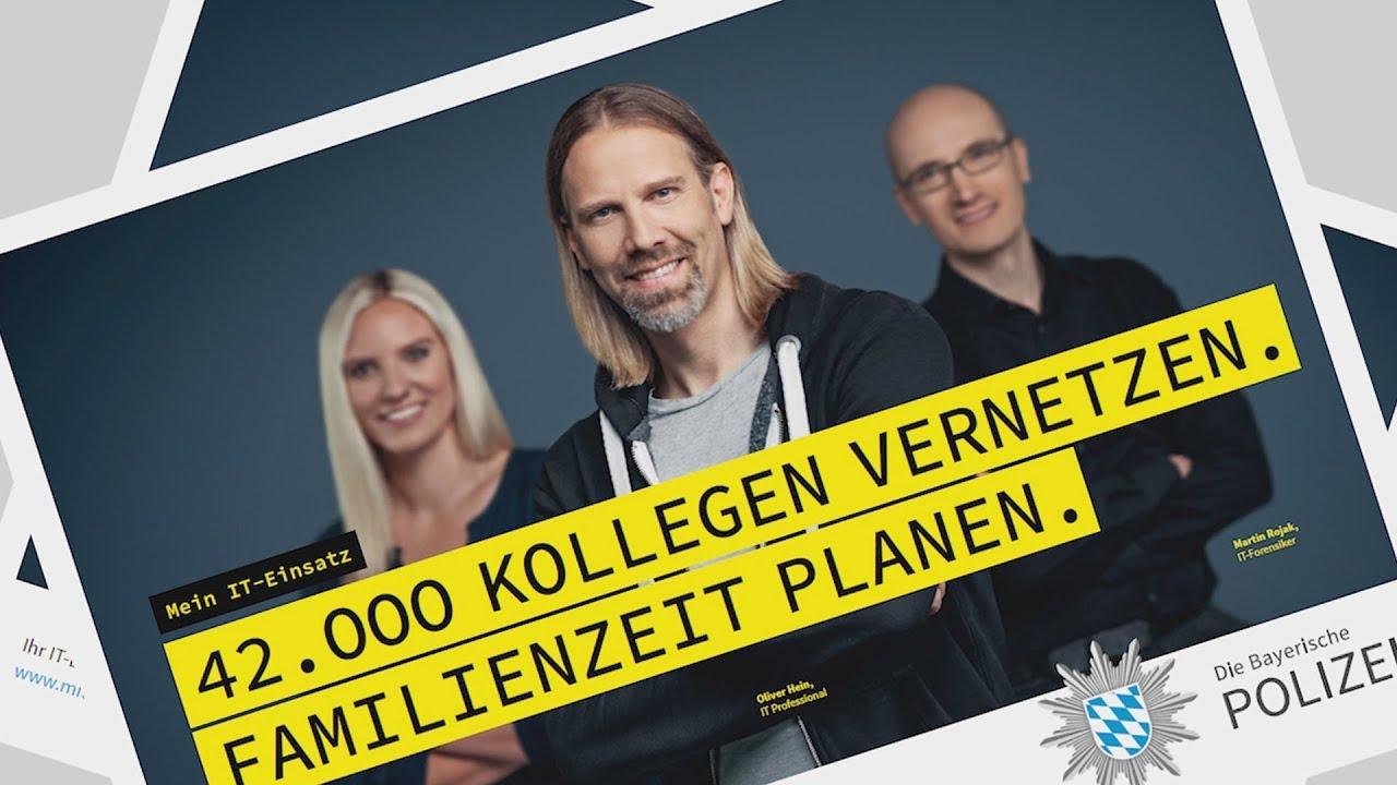 it spezialisten bei der bayerischen polizei gesucht bayern - Bewerbung Polizei Bayern