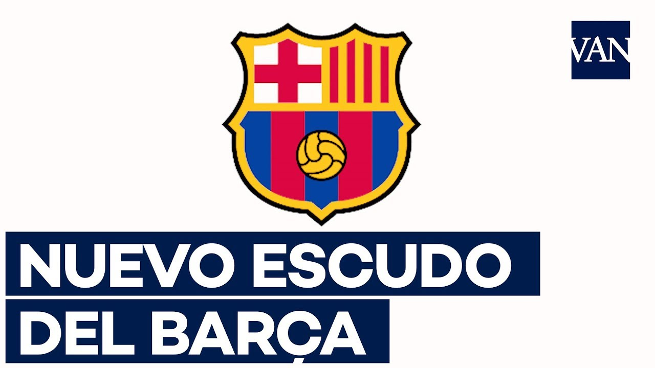 Asi Sera El Nuevo Escudo Del Fc Barcelona