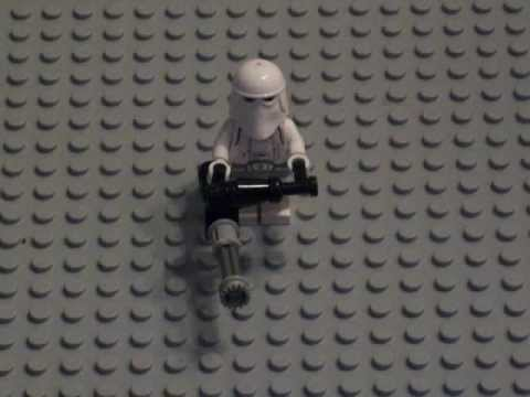 How to make a lego mini-gun - YouTube