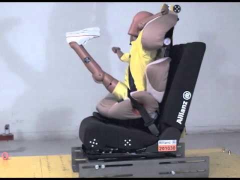child safety seat crash test allianz technology center. Black Bedroom Furniture Sets. Home Design Ideas