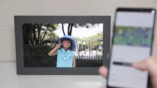 넷기어 MC315 뮤럴 디지털 액자 - 휴대폰 사진을 …