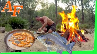 Overnight Hike Tropical Jungle Catch and Cook EP.432