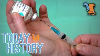 This Day In History: The Disposable Syringe