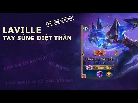 Liên Quân Mobile | Laville Tay Súng Diệt Thần và màn bóp cực mạnh từ anh Support - by Titan Gaming