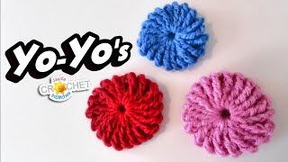 Classic YoYo Crochet Pattern - Learn the Triple Treble Crochet Stitch!