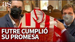Futre cumplió la promesa que hizo en AS a José Luis Martínez Almeida: así fue el momento