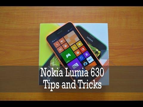 Nokia Lumia 630 Tips and Tricks