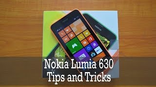 Nokia Lumia 630 Tips and Tricks