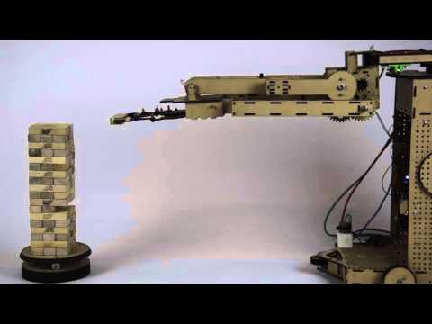 JENGA Robot: 1 Blok - VUB (Eran, Niels, Brecht)
